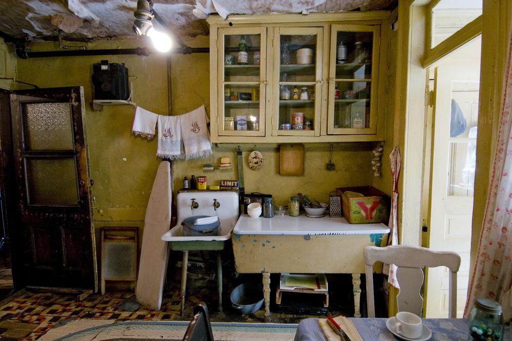 Baldizzi Family Kitchen, Photograph by Keiko Niwa. Courtesy of Tenement Museum.