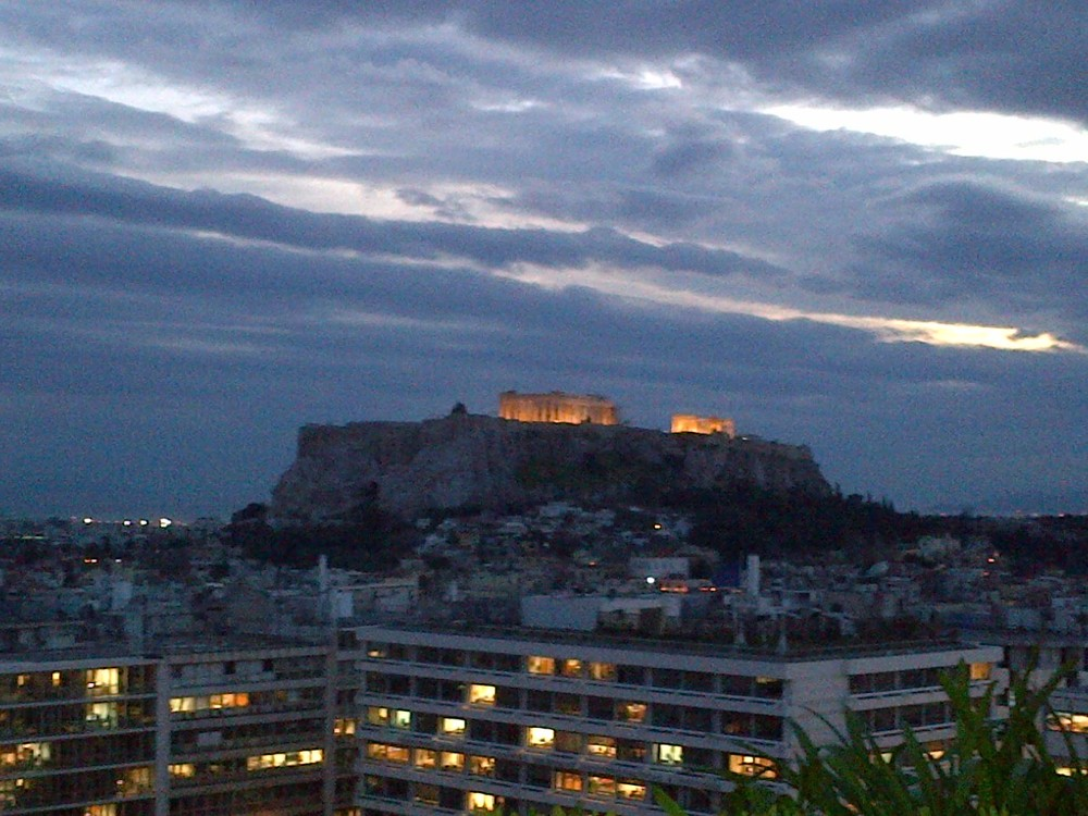 From hotel rooftop in Athens, where Ashley and I attended the American Immigration Lawyers Association (AILA) Rome District Chapter Spring Conference.