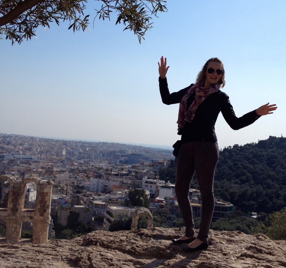 Bye, Athens! Hope to see you again!