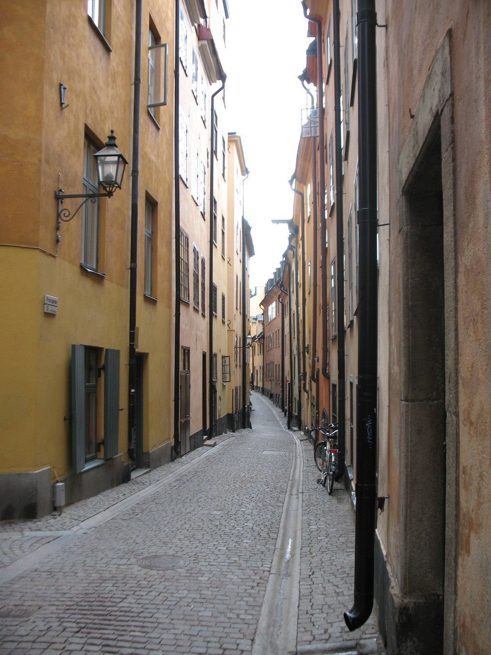 Stockholm neighborhood charm.