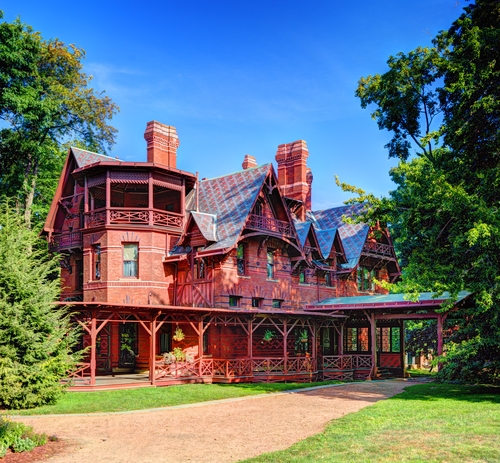 The Mark Twain House.