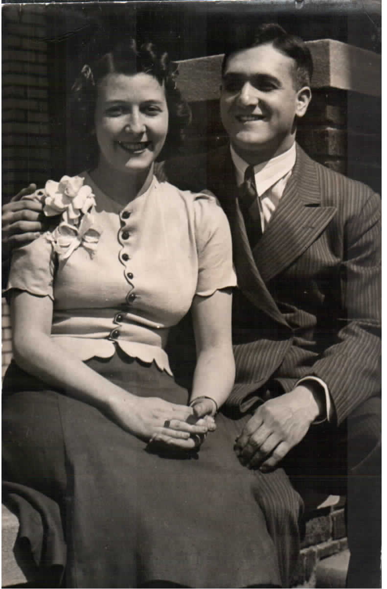 My Grandpa Coleman and Grandma Ruth.