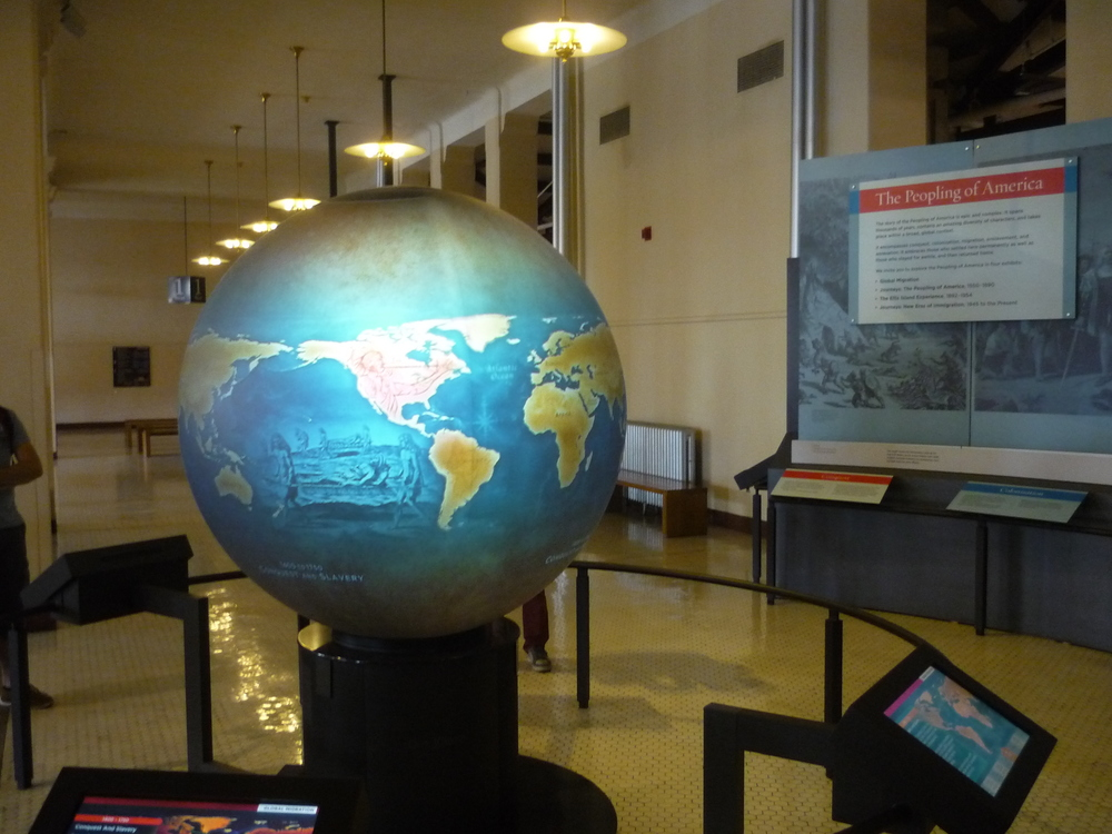 "The ""World Migration Globe."""