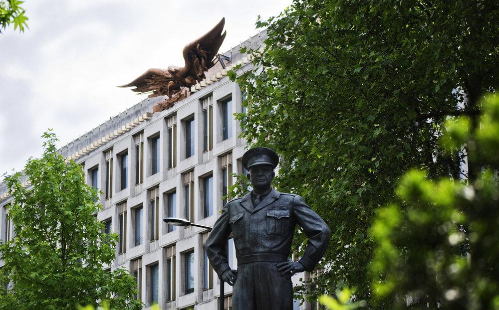 US Embassy London. Photo by  CGP Grey .