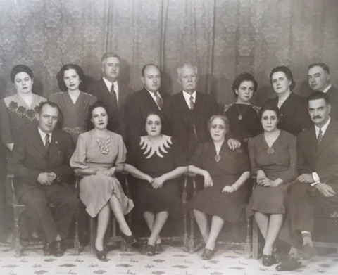 The Escobar Zerman family (the Italian side of my family).