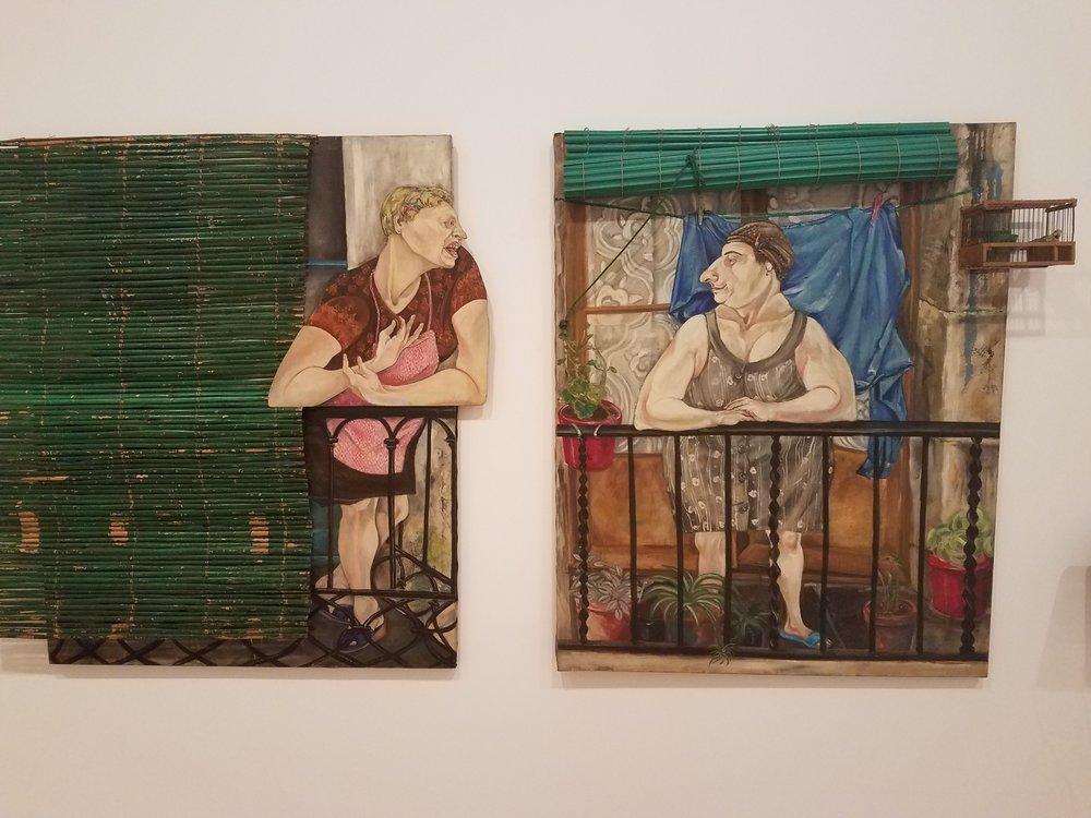 Les veines / Las vecinas (The Neighbors),  1980 by Marcia Schvartz