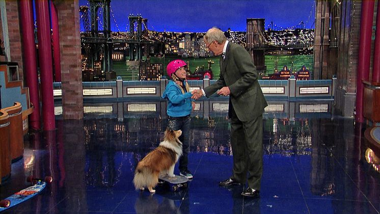 Twig and Lina performing on the Late Show with David Letterman - 11/15/13
