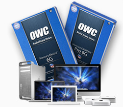 Visit our OWC, Mac performance upgrade page.