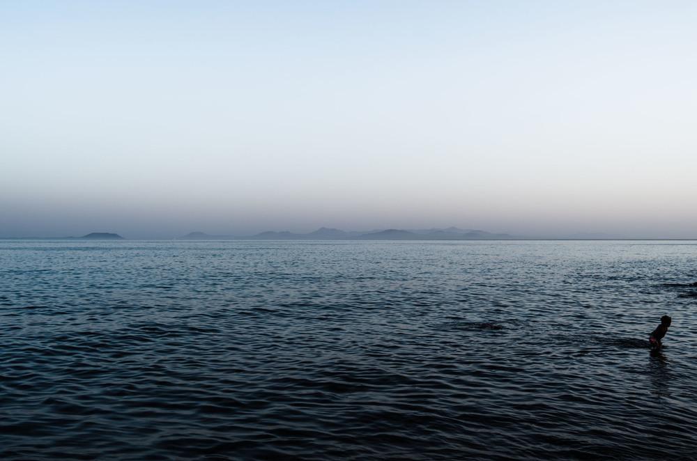 Gran Canaria desde Lanzarote. 2013