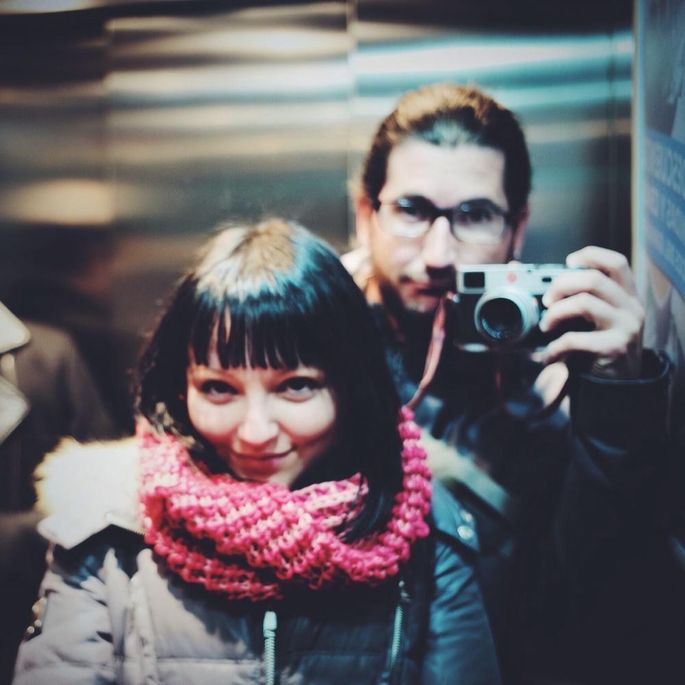 luz y yo. Madrid 2014