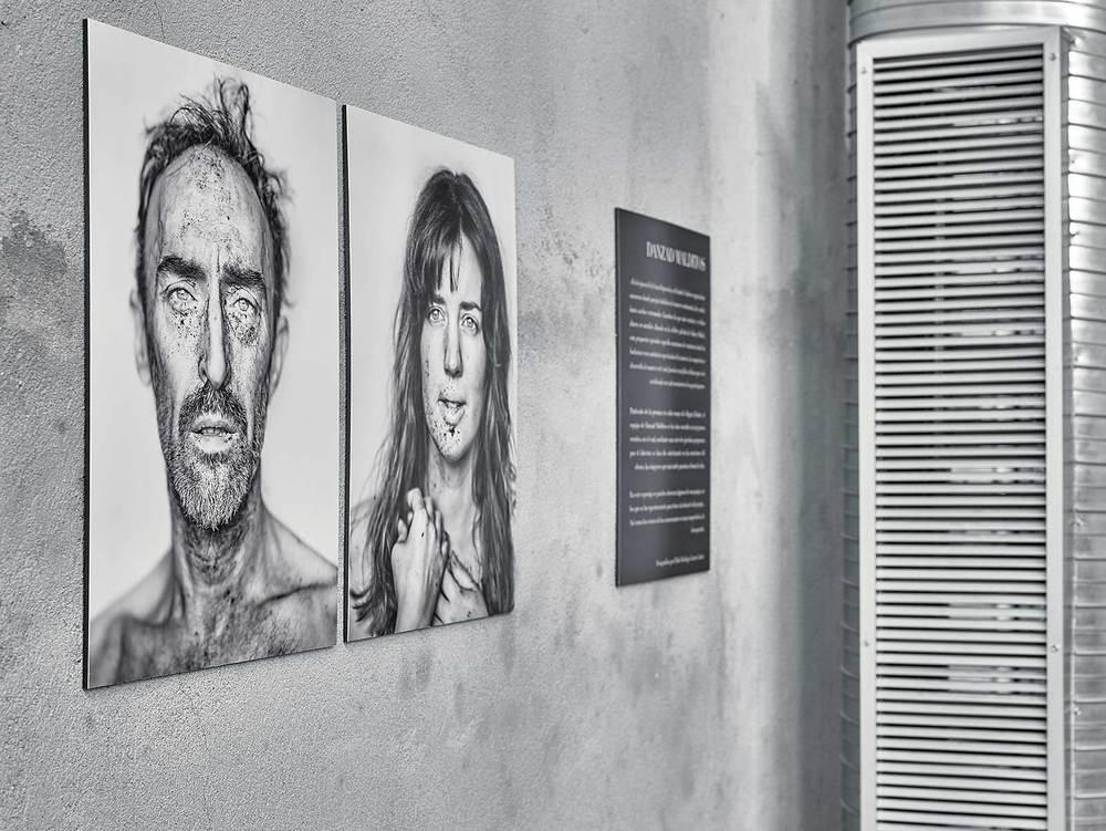 """Jose Luis y Núria. """"Danzad Malditos"""" Frinje. Madrid, 2015"""