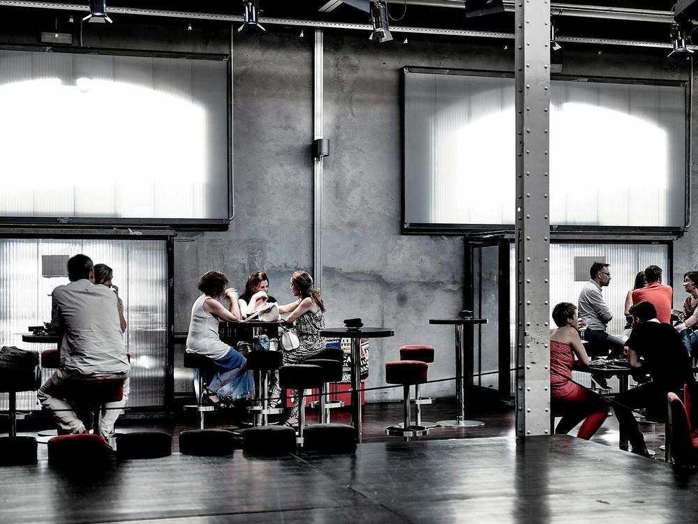 Ambiente Sala Café Teatro.