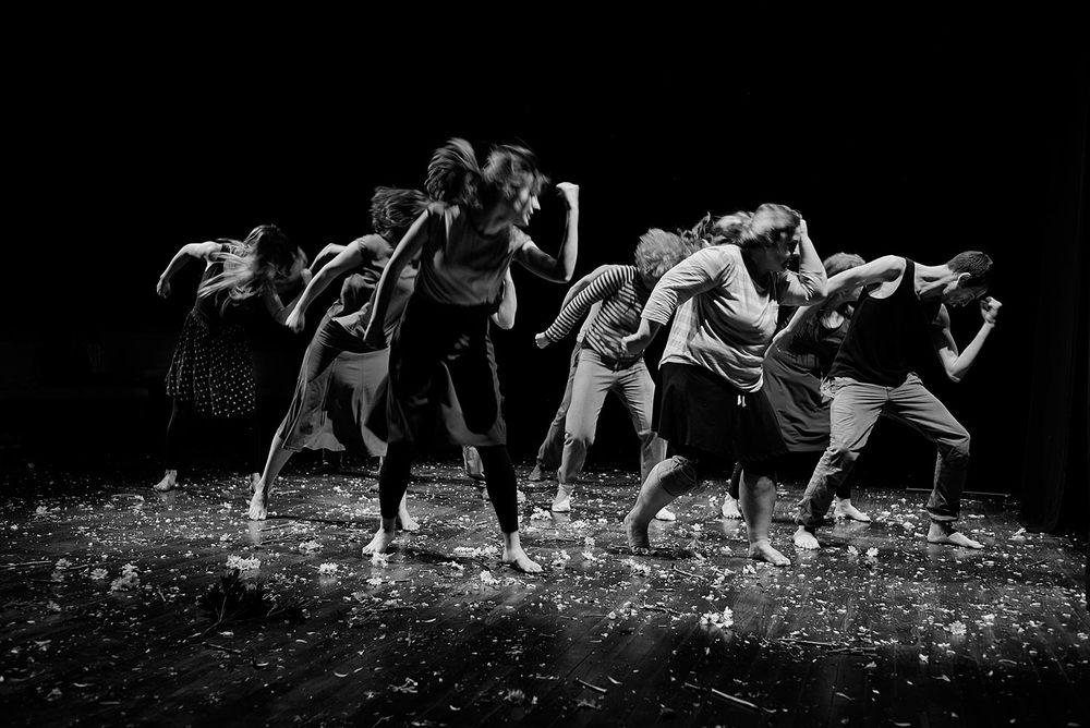 Las coreografías del director Alberto Velasco van cogiendo fuerza en los primeros días del proceso creativo