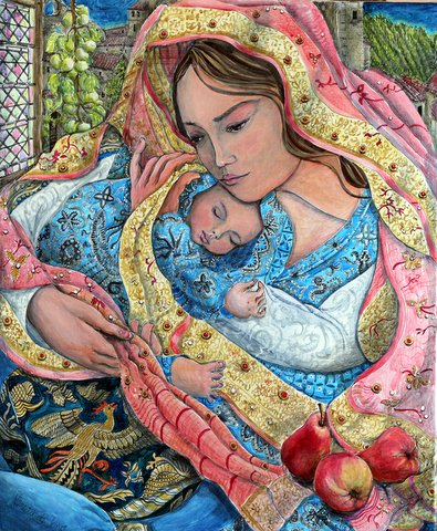 """Mother and Baby"""