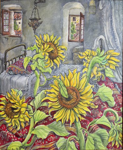 """Sunflowers Interior"""