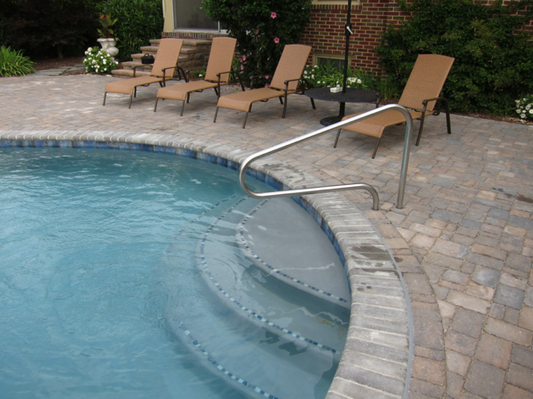 Tile Trims TriState Pools - Bullnose tiles for pools