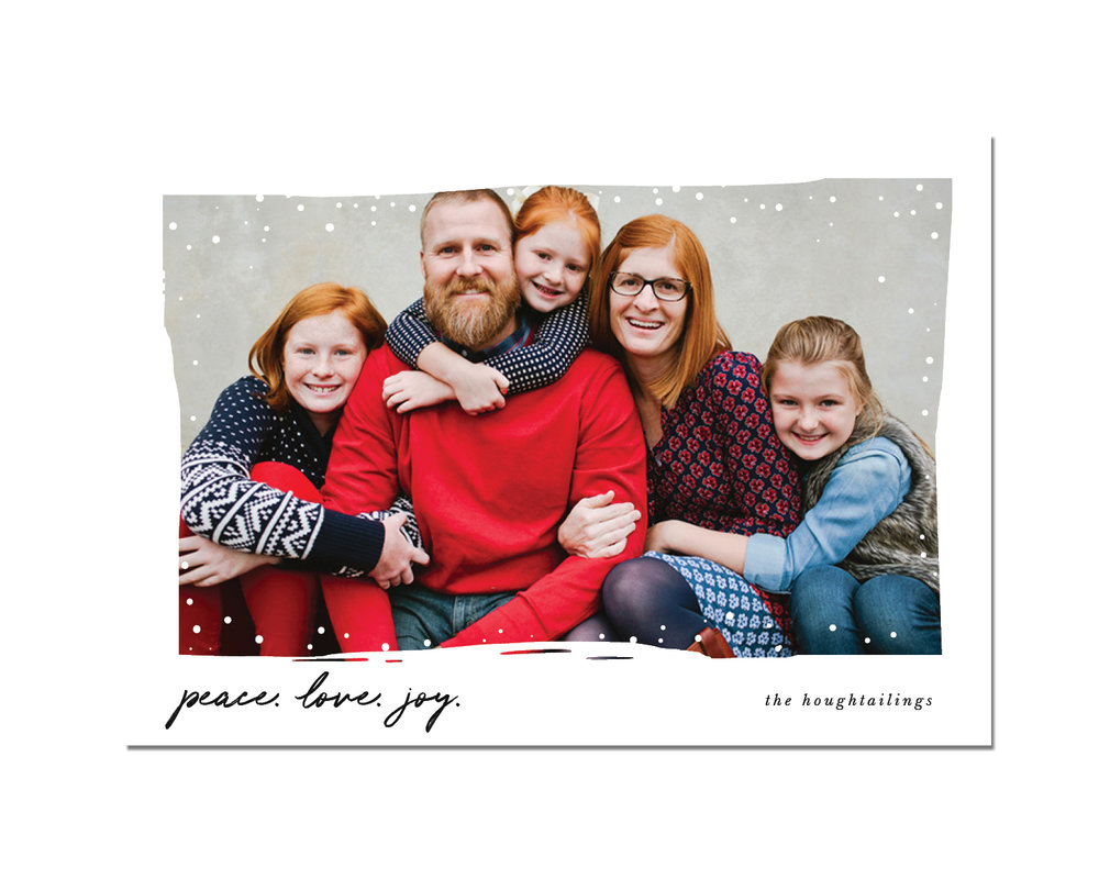 Snow Day Holiday Card