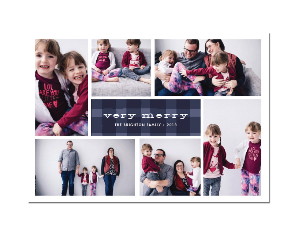 Plaid Play Holiday Card