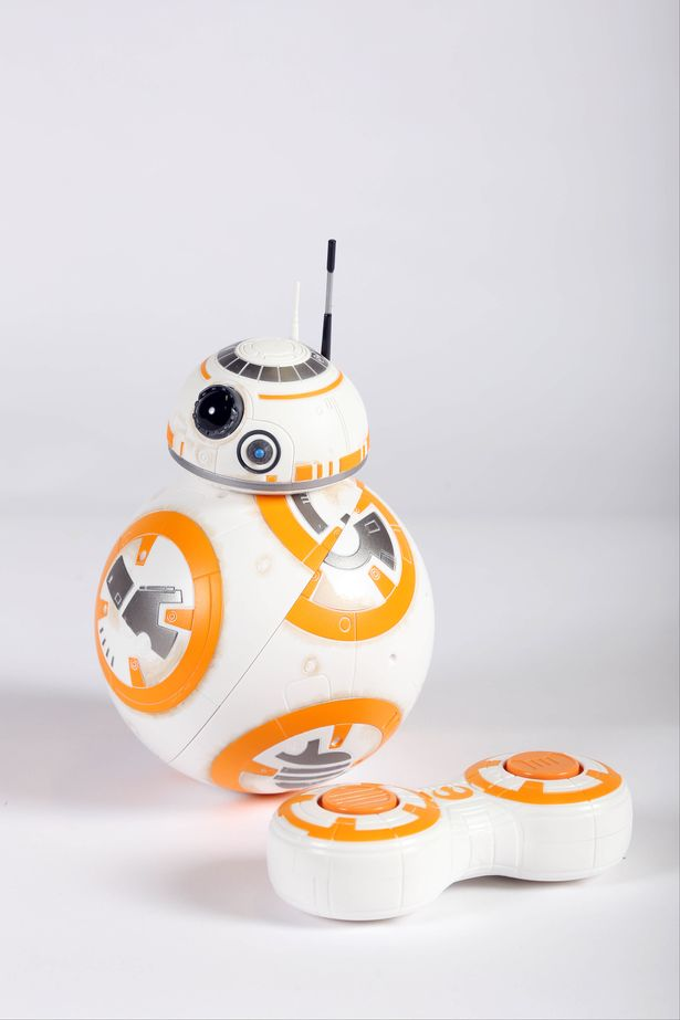 BB-8 - £59.99    For ages 3+    This is the droid you're looking for! Star Wars remains popular this year, and this remote control BB8 is the perfect gift for any fan of the movie franchise. Plus with another Star Wars film coming out in December although it probably won't have BB-8 in it.