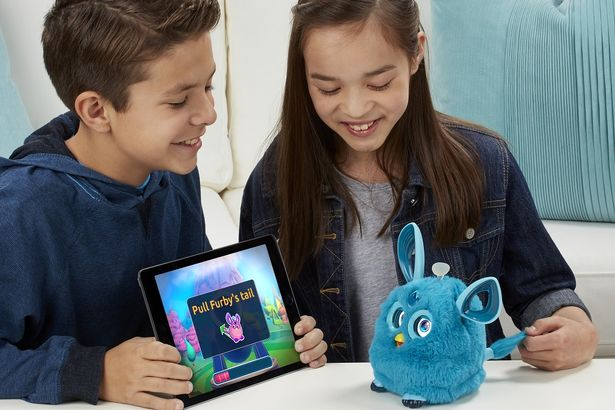 Furry Connect £99.00    Explore the Furby Connect World app to make the most of your cute companion    With over 150 expressions, kids will never tire of Furby's expressive world. Get access fun games and videos, plus find even more ways you can play with Furby via the urby Connect World app.