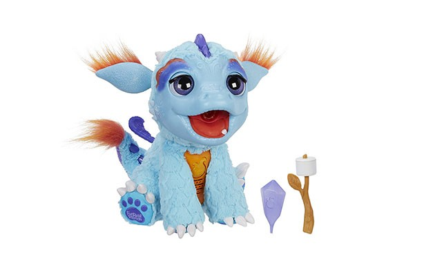 FurReal Friends Torch My Blazin' Dragon - £86.45    What is it?   This little chap is the latest in Hasbro's FurReal Friends collection. He breathes flame-coloured mist and has over 50 sound and motion combinations - just hold his colour change treat to his mouth and watch him go!