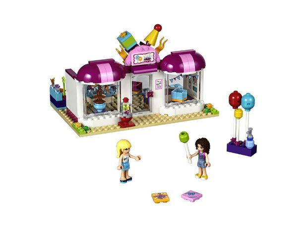 Lego Friends Party Shop - £24.99    Every child loves Lego, and this 176-piece set combines the fun of construction with the bright world of the Heartlake party shop.
