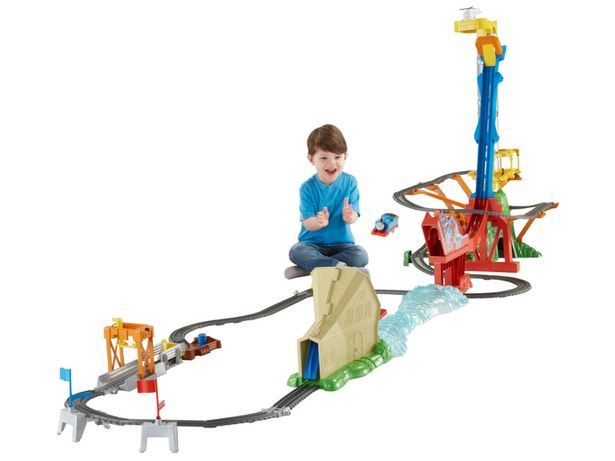 Thomas Sky High Bridge Set - £99.99    If your child loves to build things they'll love this customisable bridge set. Complete with drawbridge and cargo hopper, it will bring them hours of fun.