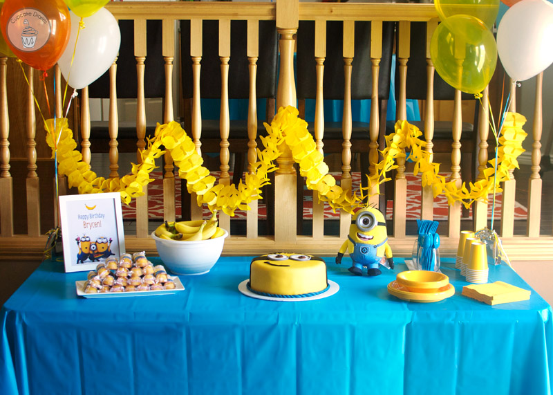 Minion Party Table Wonder Kids
