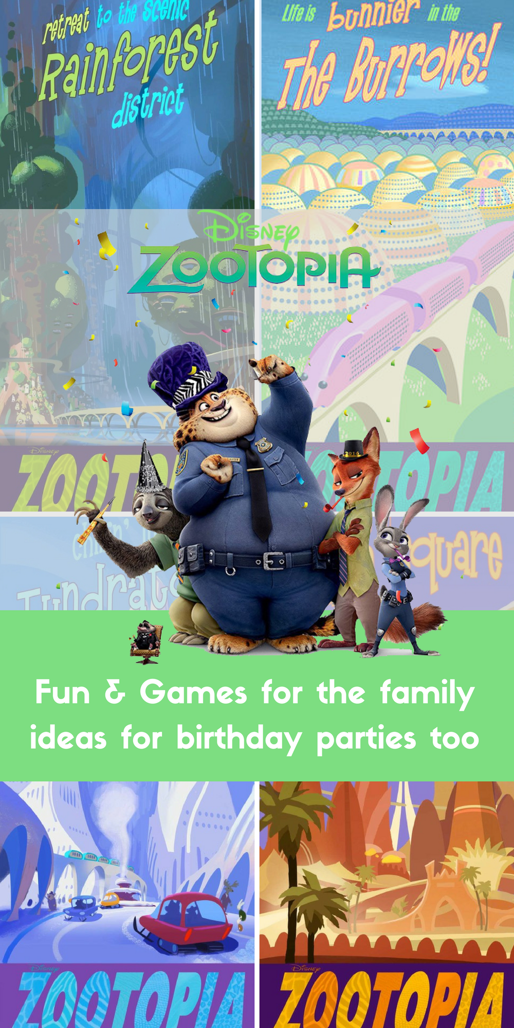 Zootopia Free print puts from Wonder Kids