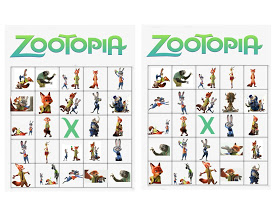 Zootopia Bingo from Wonder Kids