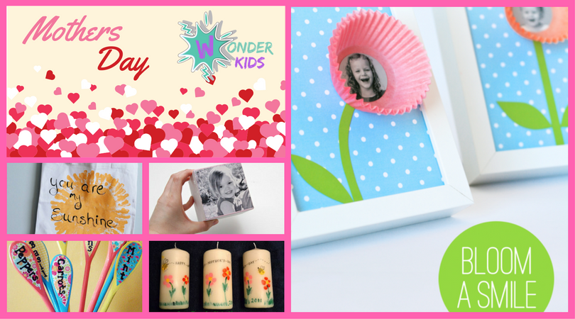 Mothers day ideas from Wonder Kids 2017