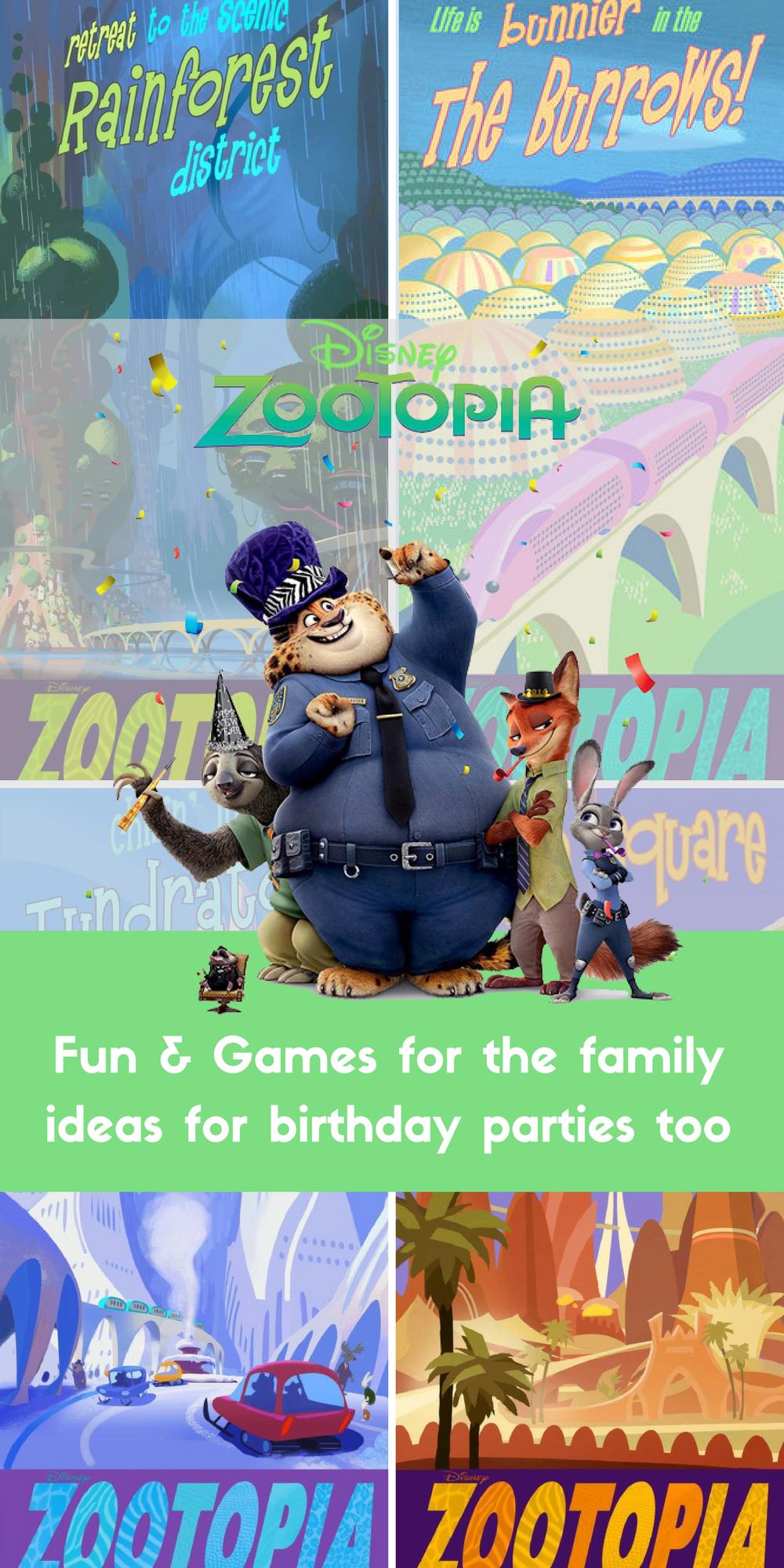 Zootopia Fun