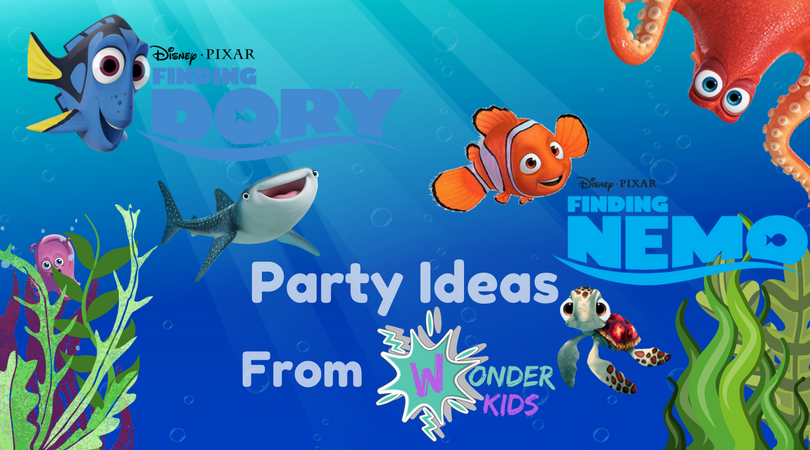 Finding Nemo Food ideas from Wonder Kids