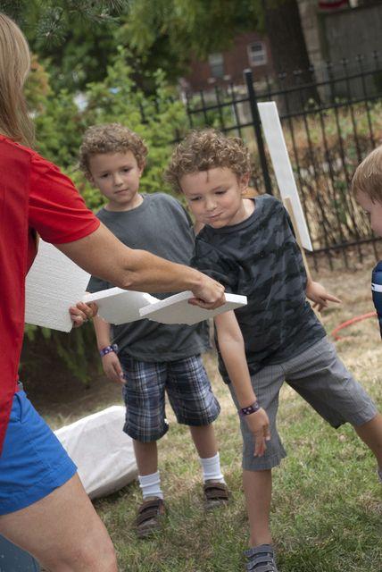 Superhero Training from Wonder Kids
