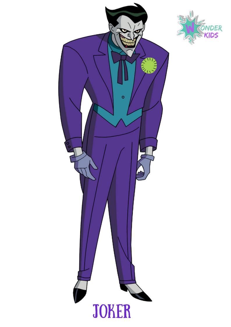 Joker from Wonder Kids