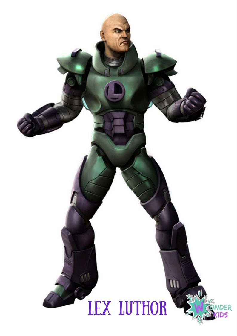 Lex Luthor from Wonder Kids