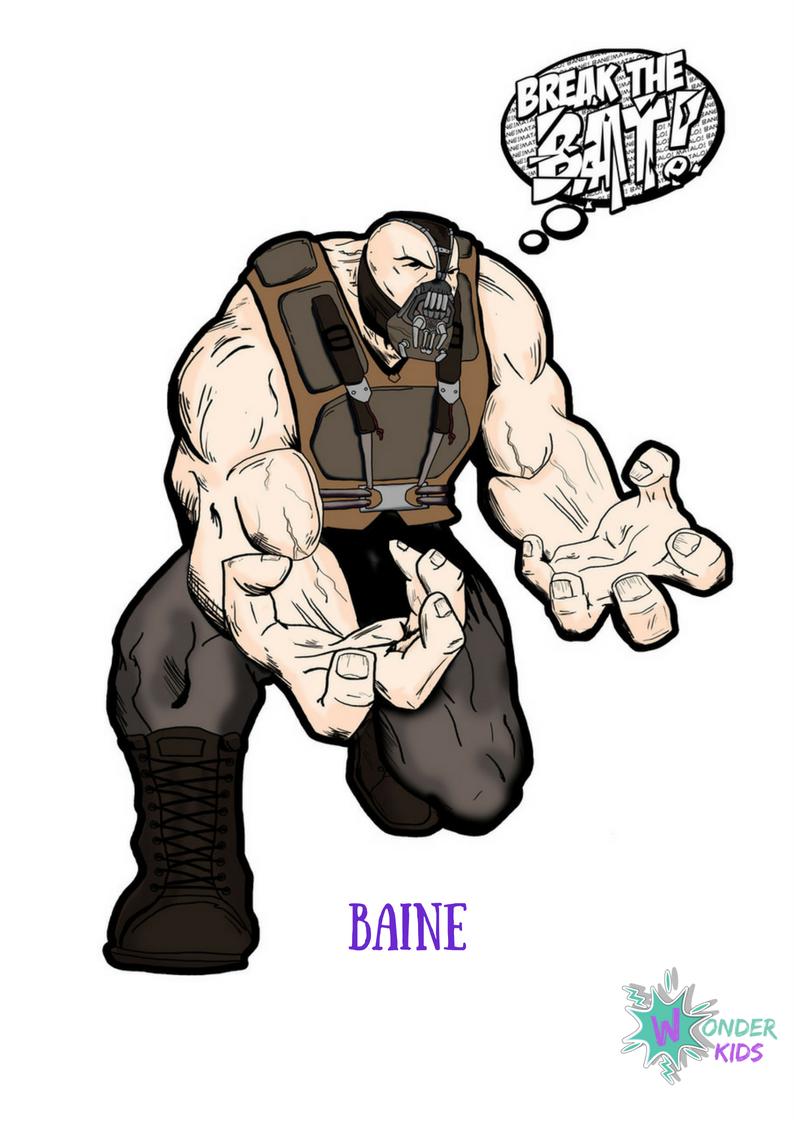 Baine from Wonder Kids