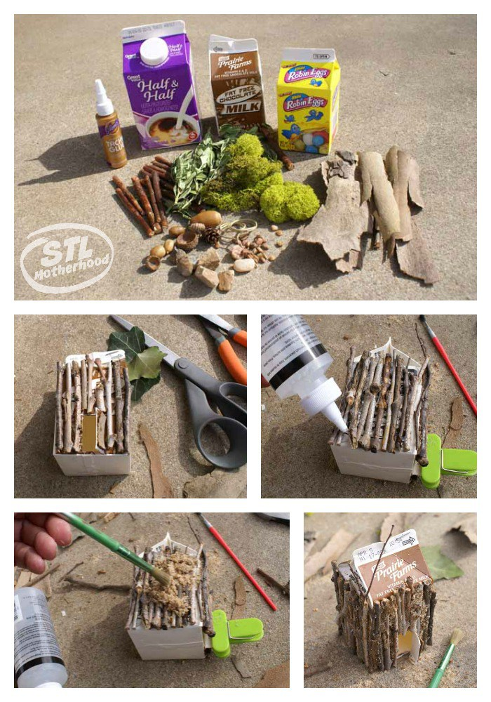 Eco build fairy house Wonder Kids
