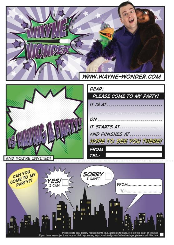Wayne Wonder Classic Invite