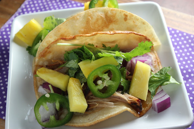 Moana Pork taco's Wonder Kids