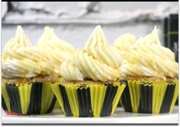 Butterbear Cupcakes