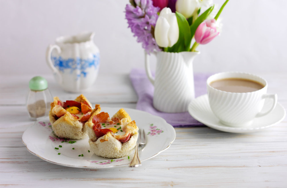 Toasted Breakfast Cups