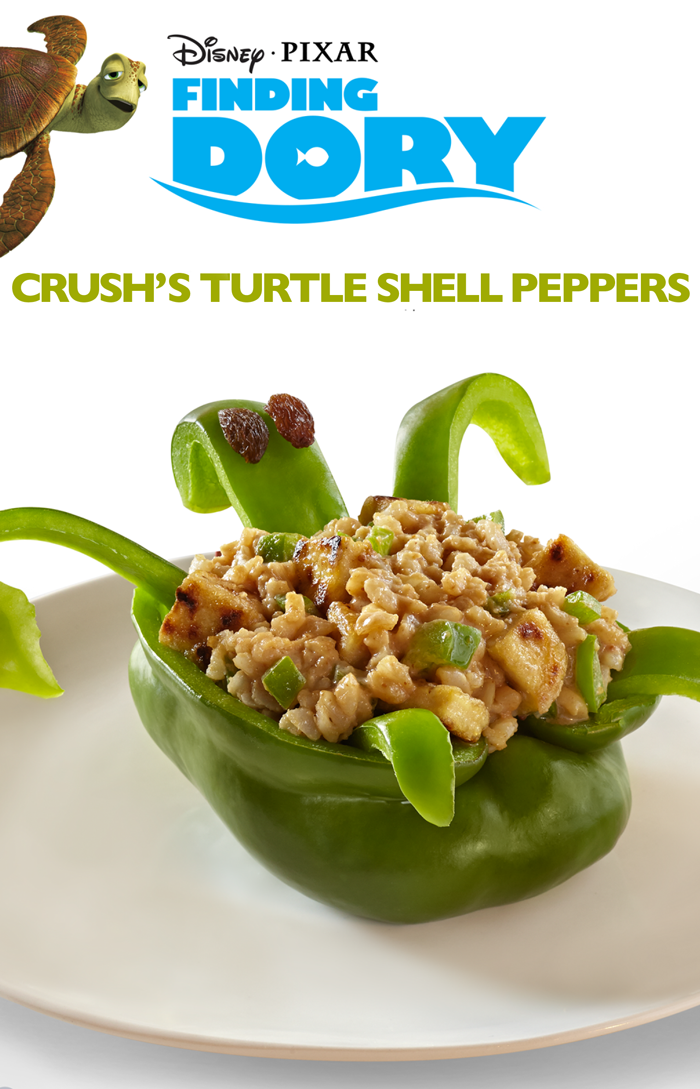 Crush's Turtle Shell Peppers