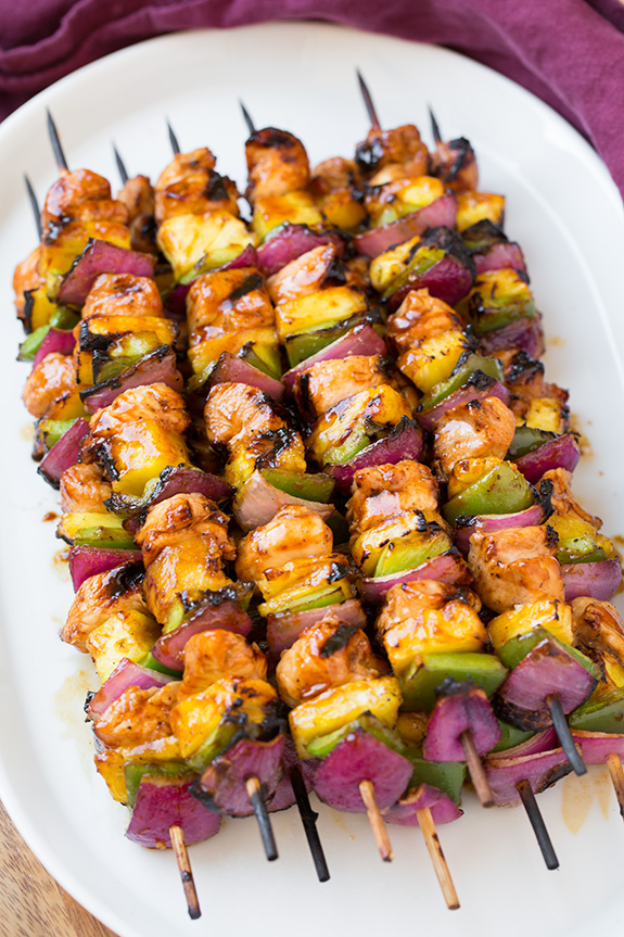 Moana Chicken Kebabs