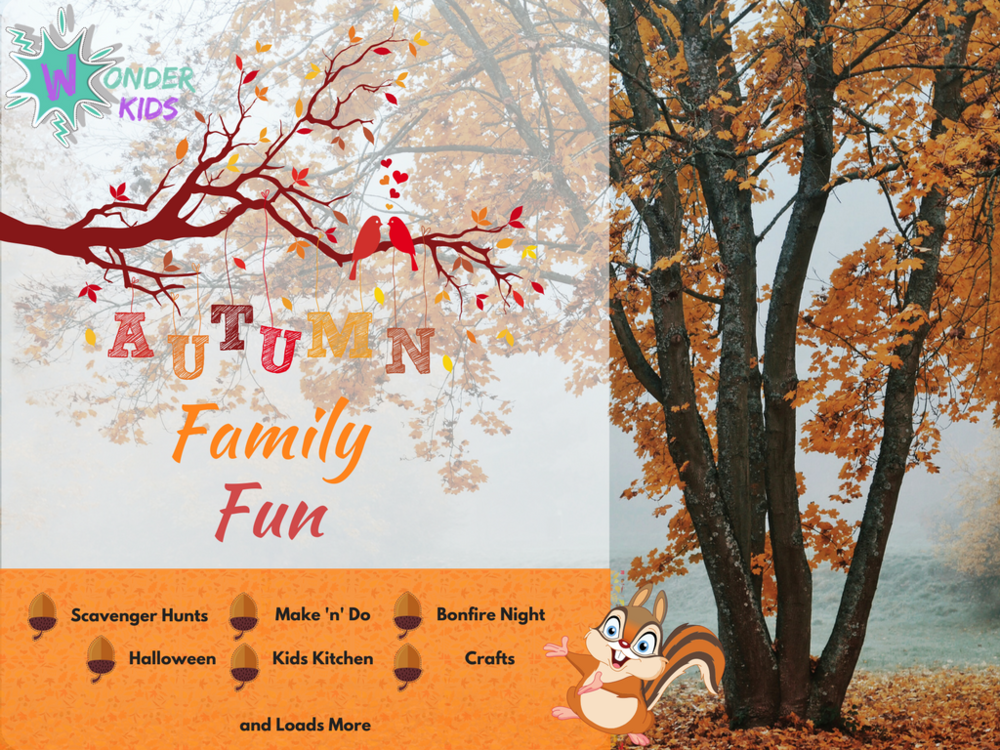 Autumnal Fun from Wonder Kids