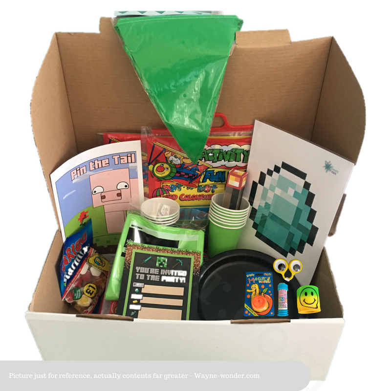 Minecraft Party Box from Wonder Kids