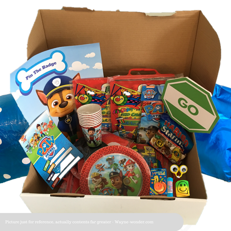 Paw Patrol Party Box from Wonder Kids