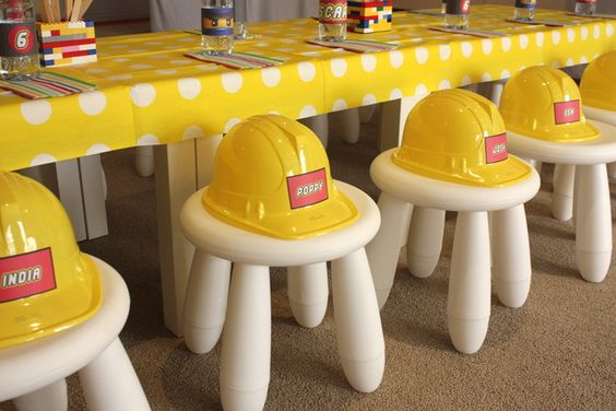 Hard Hats for Lego Master Builders