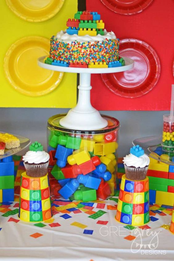 Lego Birthday Party Inspiration