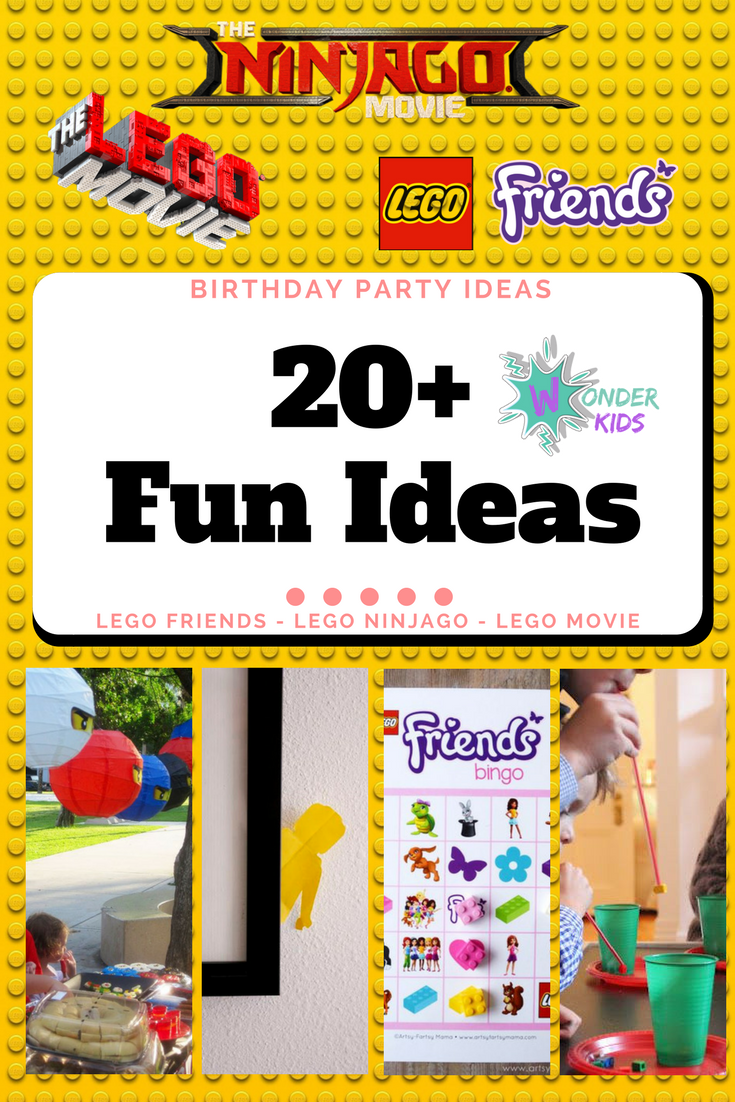 Lego Friends Party from Wonder Kids